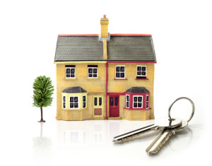 Image of house and keys